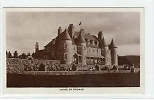 HOUSE OF CROMAR: Aberdeenshire postcard (C12328)