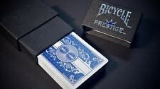 New 1 Deck Dura-Flex Blue Bicycle Prestige Poker Playing Cards 100% Plastic RI