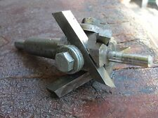 circle metal ROBERT CLARK co 3 DRILL BIT adjustable fly cutter pilot tool shop