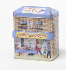 SILVER CRANE Victorian Storage Tin Box CANDY & ICE CREAM STORE Canopy House