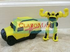 ☀️ Transformers RATCHET Car & Figure Yellow Autobot Burger King Toy Cake Topper