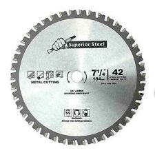 "7 1/4"" Carbide Tip for Ferrous Metal Steel Cutting Circular Saw Blade"