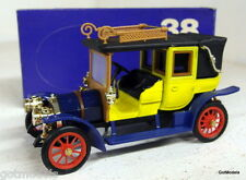 RIO 1/43 - 38 1908 FIAT 18/24 HP YELLOW DIECAST MODEL CAR