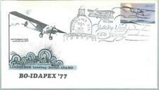 1977 Bo-Idapex 77 50th Anniversary Lindburgh Cover abc