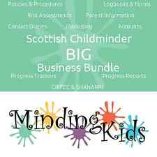Scottish Childminder BIG Business Bundle, GIRFEC, SHANARRI, Care Plans, & more!