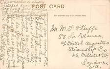 Michael J. O'Keeffe, S.S. La Blanca, Argentine, Billiter Street, London, qq1548