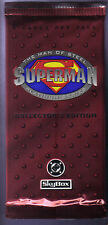 1994 Skybox DC Superman Man of Steel Platinum Series Trading Cards Pack from box