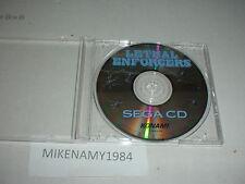 LETHAL ENFORCERS game disc only in case - SEGA CD system