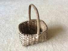 Antique Miniature Splint Basket