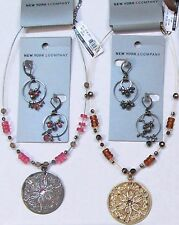 4 New York & Company Necklaces Earrings Wholesale Lot Fashion Jewelry NWT $87.80