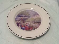 Andrea By Sadek French Cafe 1994 Vintage Afternoon Park Parisan Retro Plate