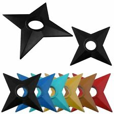 New Naruto Cosplay Ninja Shuriken Plastic Duadrangle Ninja Darts Props Toys Gift