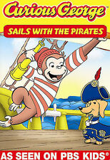 Curious George: Sails With The Pirates a DVD