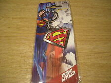 DC COMIC BOOK HEROES - MARVEL SUPERMAN ENAMEL KEYCHAIN - NEW
