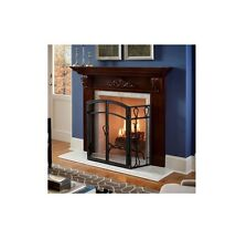 "Cherry Fireplace Mantel Surround Shelf Mantle 47"" x 36"" __ FREE SHIPPING"