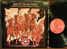 Wagner: Ride of The Valkyries - Eugene Ormandy (LP 1972 RCA LSC-3264) VG/NM