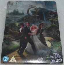 Oz The Great and Powerful 3D Die fantastische Welt von Oz Blu-Ray Steelbook NEU
