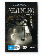 A Haunting : Season 4 (DVD, 2011, 3-Disc Set), Like new, free shipping