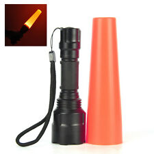 5000LM XM-L T6 LED Flashlight 5 Modes Zoomable Torch Light Traffic Control Stick