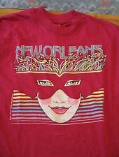 Vintage 1985 New Orleans Louisiana t-shirt 50/50 Hanes USA Soft Bourbon Street
