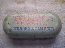Vintage Eveready Mazda Automobile Lamp Kit With Bulbs