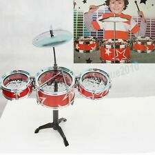 Children Rack Drum Jazz Drum Toy 7 Full Sets Kids Musical Instrument Toys New