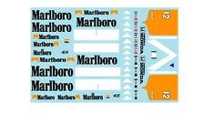 F1 DECALS MUSEUM COLLECTION D844 1/43 FOR MCLAREN MP4/4 & MP4/5 TOBACCO