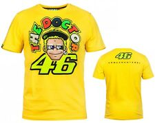 MAGLIETTA UOMO T-SHIRT MAN VR46 VALENTINO ROSSI THE DOCTOR YELLOW ORIGINAL TG XL