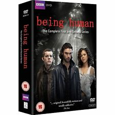 Being Human - Complete BBC Series 1-2 Including Bonus DVD Exclusive 5 Disc Box