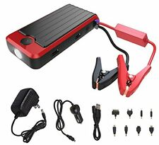 PowerAll Rosso 12000 mAh Portable Power Bank and Car Jump Starter PBJS12000R