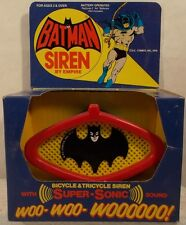 DC Comics Batman 1978 Super Sonic Bicycle Siren By Empire With 1966 Graphic MIB