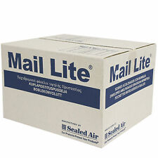100 x C/0 MAIL LITE Padded Mail Envelopes Sealed Air Bag Mail Lites White Boxed
