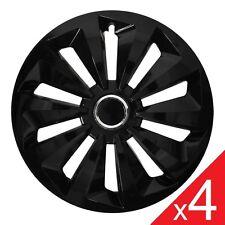 """NEU! 4x 13"""" RADKAPPEN / RADBLENDEN - SCHWARZ - FOX DESIGN (4 St) 13 Zoll"""