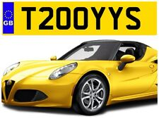 T200 YYS TROY TROYS TOY TOYA TOYAH TOYOTA TERRY PRIVATE NUMBER PLATE FOCUS AUDI