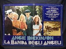 FOTOBUSTA CINEMA - F.B.I. E LA BANDA DEGLI ANGELI - A. DICKINSON -1974-GIALLO-08