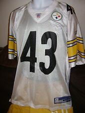 PITTSBURGH STEELERS REEBOK/JERSEY-LARGE-NFL-AFC STEELERS SHIRT #43 POLAMALU