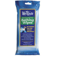 NEW (8 Packs) No Rinse Bathing Body Cleansing & Deodorizing Wipes - 64 Total