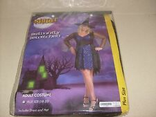 Super Sexy Womans BEWITCHED Halloween Women Adult Costume SZ PLUS NEW MIP