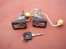 Genuine Mercedes Benz W124 Door Locks Set with 1 Key