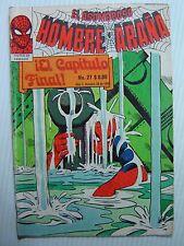 ASOMBROSO HOMBRE ARAÑA #27 VG/FN Mexican 1980 AMAZING SPIDERMAN 33 STEVE DITKO