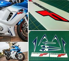 GSX 650F 2012 Fluorescent Full Replacement Decals Stickers Graphics