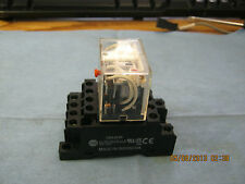 Omron Model: LY4I4N Relay with Allen Bradley 700-NH139 Series A Base