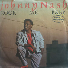"7"" 1988 KULT IN MINT- ! JOHNNY NASH : Rock Me Baby"