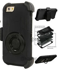 """iPhone 6 Plus 5.5"""" - 4 Layers Combo Rugged Case Cover Holster with Belt Clip"""