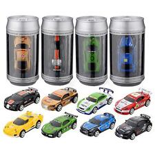 Mini Coke Can Speed RC Radio Remote Controlled Micro Racing Car Toys