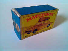 Boîte copie repro MATCHBOX LESNEY 45 ford corsair ( reproduction box vide )
