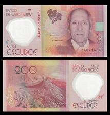 [ZA REPLACEMENT] Cape Verde 200 Escudos, 2014, P-New, Polymer, UNC