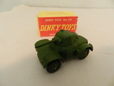 VINTAGE DIECAST ARMY TRUCK- VINTAGE DINKY TOYS ARMOURED CAR W/ BX -MECCANO - WW2