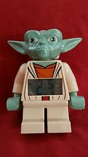 LEGO Star Wars Yoda Digital LCD Alarm Clock TESTED FAST SHIPPING Disney