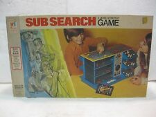 Vintage Sub Search 3 Level Strategy Navy Game 1973 From Milton Bradley     gm390